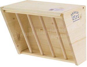 Henera de madera maciza sin tratar de degus