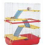 Imac Jaula para ratas Rat 80 Doble Azul