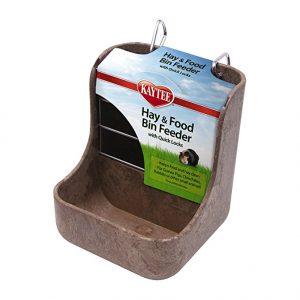Kaytee alimentador de heno N contenedor de Comida con Cierres rápidos de degus
