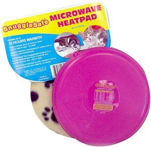 Snuggle Safe Almohadilla de calor inalámbrica de microondas con cobertura de forro polar (el color puede variar) de degus