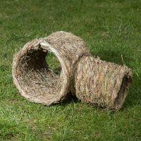 Tubo doble de hierba – 2 partes de degus