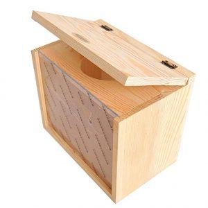 insun Natural madera bañera PMMA 15 x 20 x 23 cm